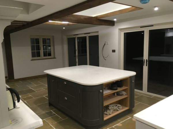 KITCHEN EXTENSION AND REMODELLING