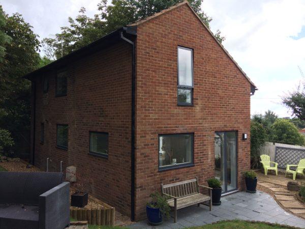 House Refurb & Velfac Windows Hythe