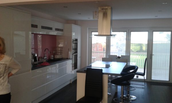TWO STORY EXTENSION INC KITCHEN ROMNEY